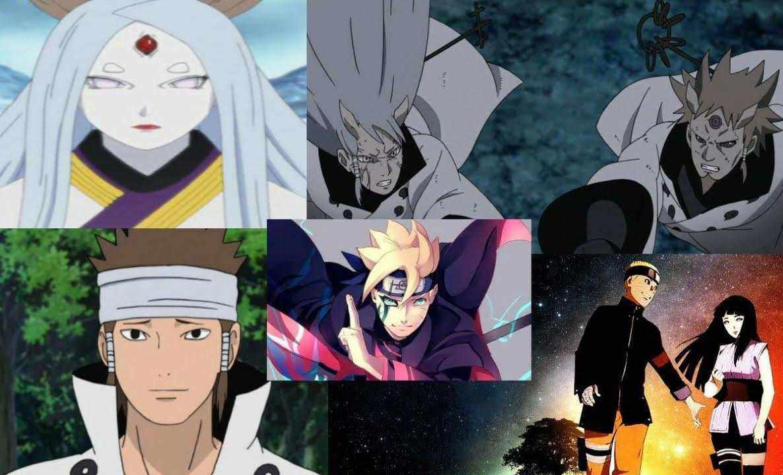 Boruto Naruto Hinata Asura Hagoromo Hamura Kaguya