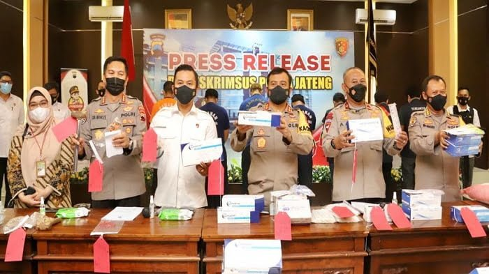 Ditreskrimsus Polda Jateng Ungkap 3 Kasus Besar Selama Ramadhan