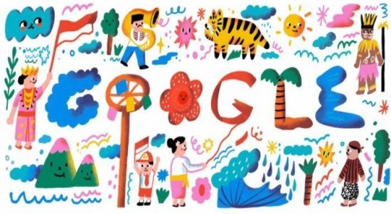 Google Doodles Logo 17 August