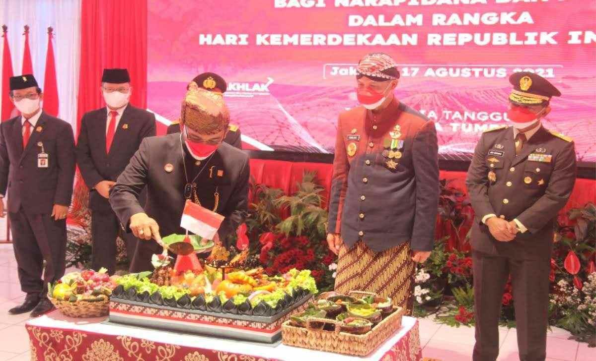 Gubernur Jateng di Lapas kelas I Semarang
