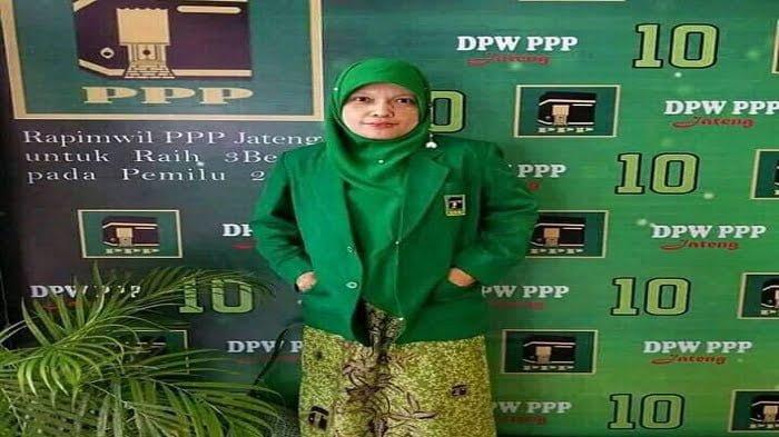 HJ Nurul Hidayah Supriyati Ketua DPC PPP Purbalingga Jawa tengah