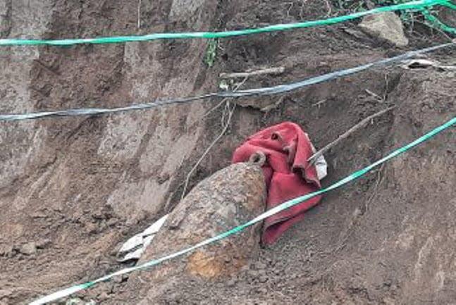 Temuan Bom Sisa Perang Kemerdekaan di Majenang Cilacap