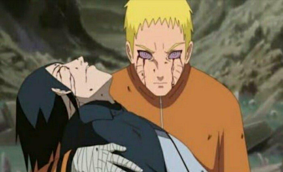 Ilustrasi Sasuke Mati