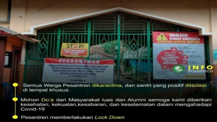 Info Pesantren di Cigaru Majenang Lockdown