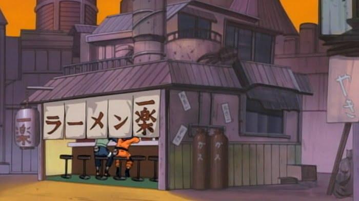 Kedai Ramen Ichiraku di Anime Naruto