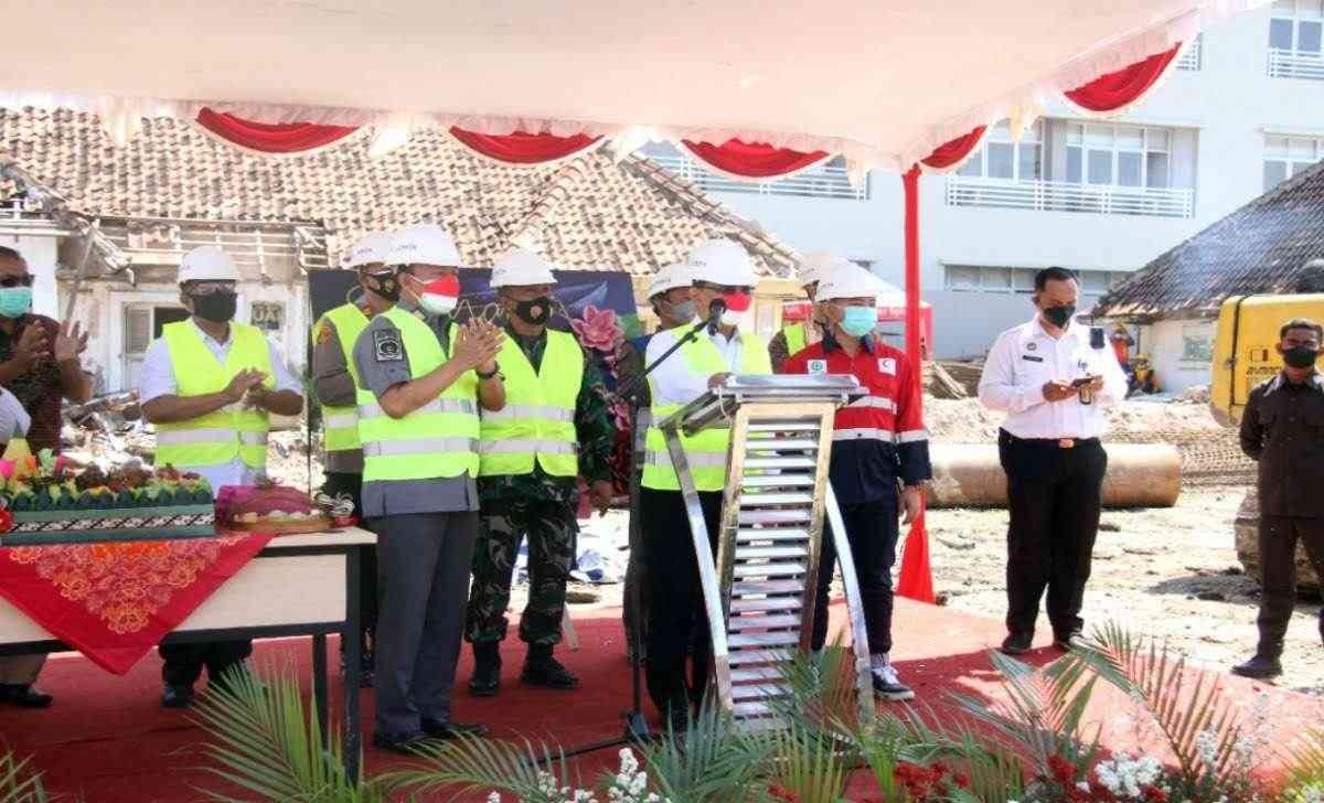 Kemenkumham Jateng GroundBreaking Pembangunan Rutan Kelas IA Semarang