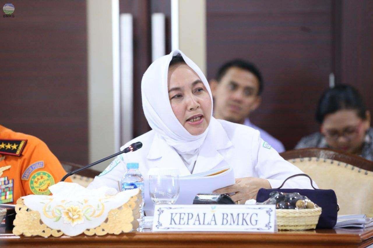 Kepala BMKG Dwikorita Karnawati