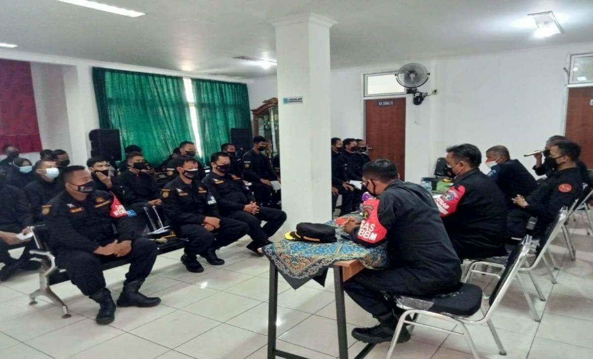 Lapas Pasir Putih Nusakambangan Gelar Evaluasi TPN Wilayah Bebas dari Korupsi 2021