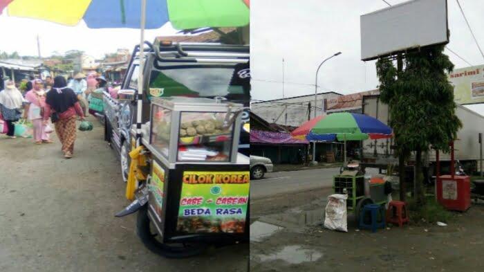 Lokasi Pasar Sitinggil Rawajaya Banatarsari Cilacap