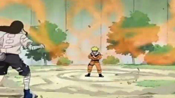 Momen Ujian Chunin Naruto vs Neji