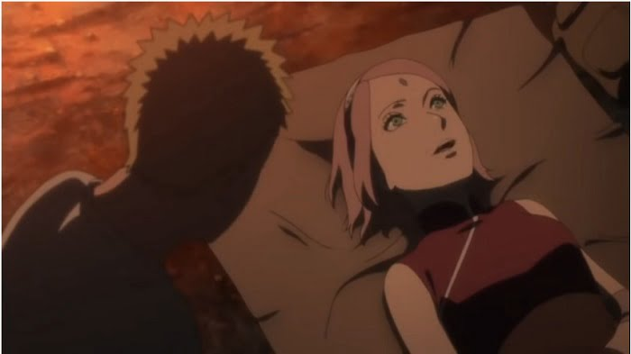 Naruto Berbicara Masalah Cinta dengan Sakura di Naruto The Last