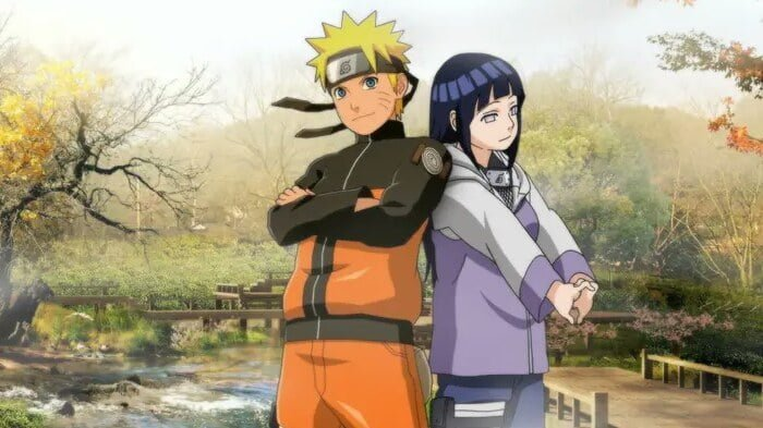 Naruto Uzumaki dan Hinata Hyuga