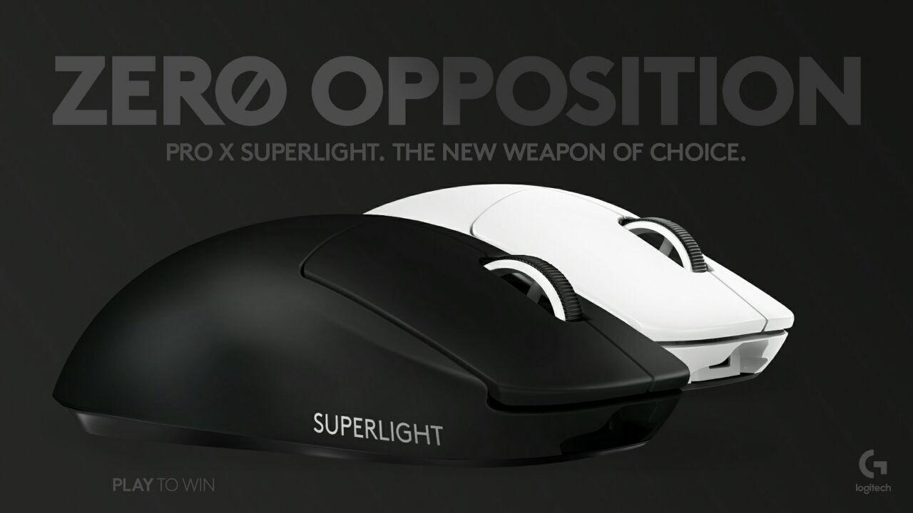 Pro X Superlight Black White