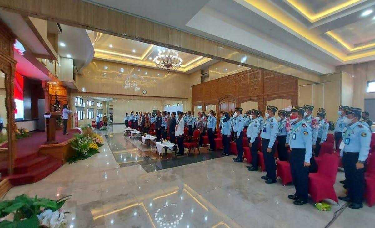 Rapat Kerja Teknis Pemasyarakatan Kemenkumham Kanwil Jateng