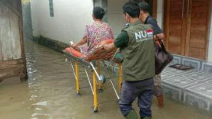 Tim NU Peduli Evakuasi Korban Baniir di Gandrungmangu Cilacap
