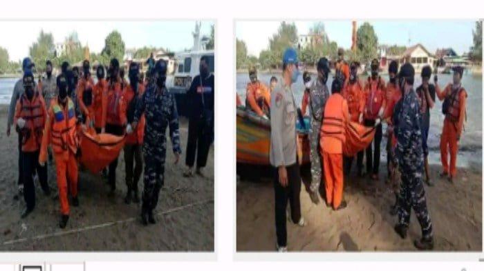 Tim SAR saat evakuasi Mahasiswi asal Banyumas yang hilang di Logending Kebumen