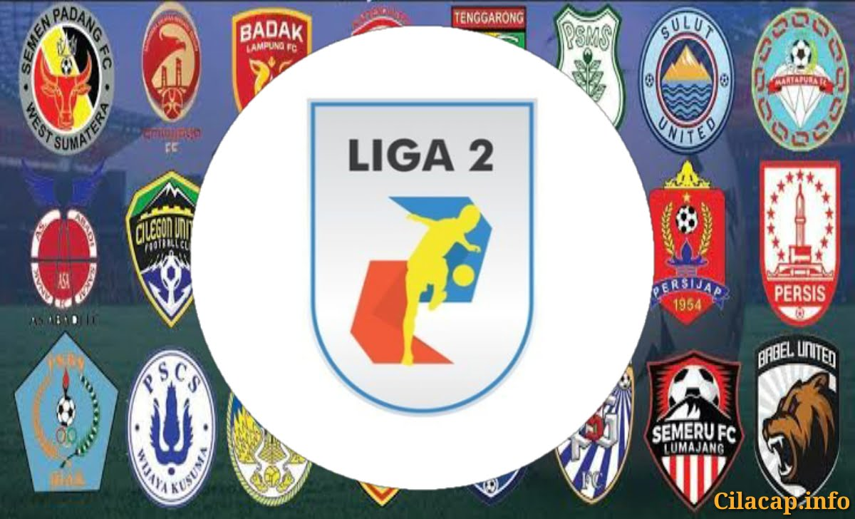 ilustrasi daftar klub sepak bola liga 2 dan logo