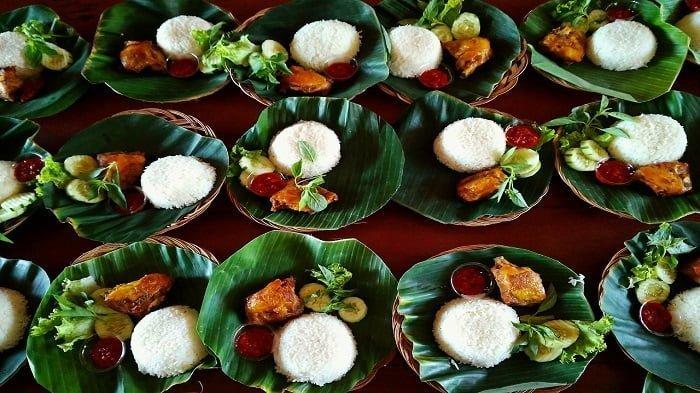 ilustrasi kuliner tradisional indonesia