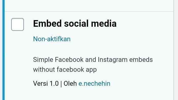 ilustrasi plugin embed social media facebook dan instagram di wordpress