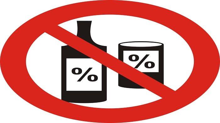 ilustrasi stop alkohol
