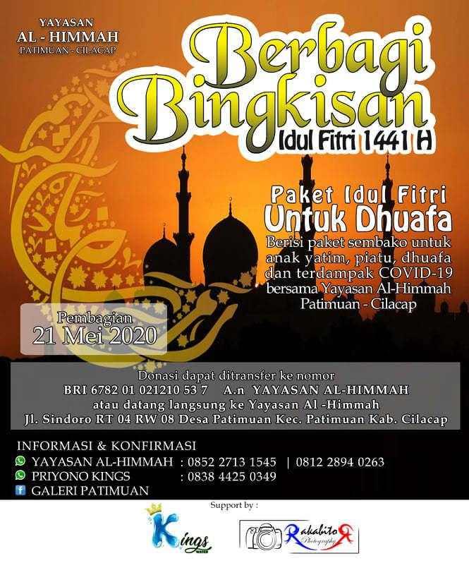 informasi donasi al himmah