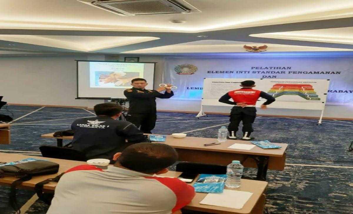 lapas high risk pasir putih nusakambangan menjadi role model tim tanggap darurat se indonesia