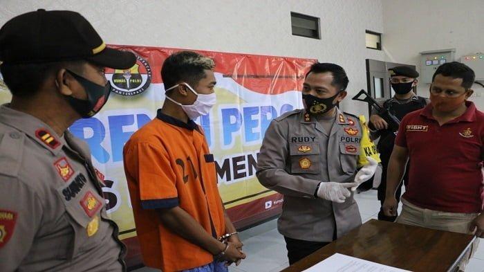 pemuda berinisial AG Ditangkap Polres Kebumen