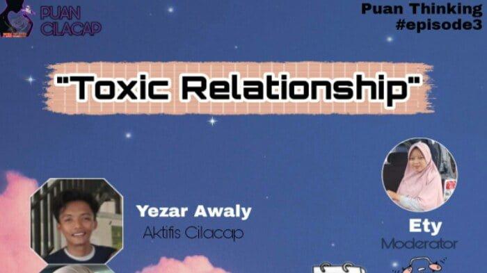 puancipacap gelar diskusi dengan tema toxic relationship