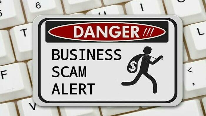 spam alert ilustrasi